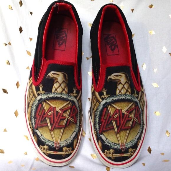 41c14b8146 Rare Vans Slayer Slip On Shoes. M 5b832fe12830955a781a90ed